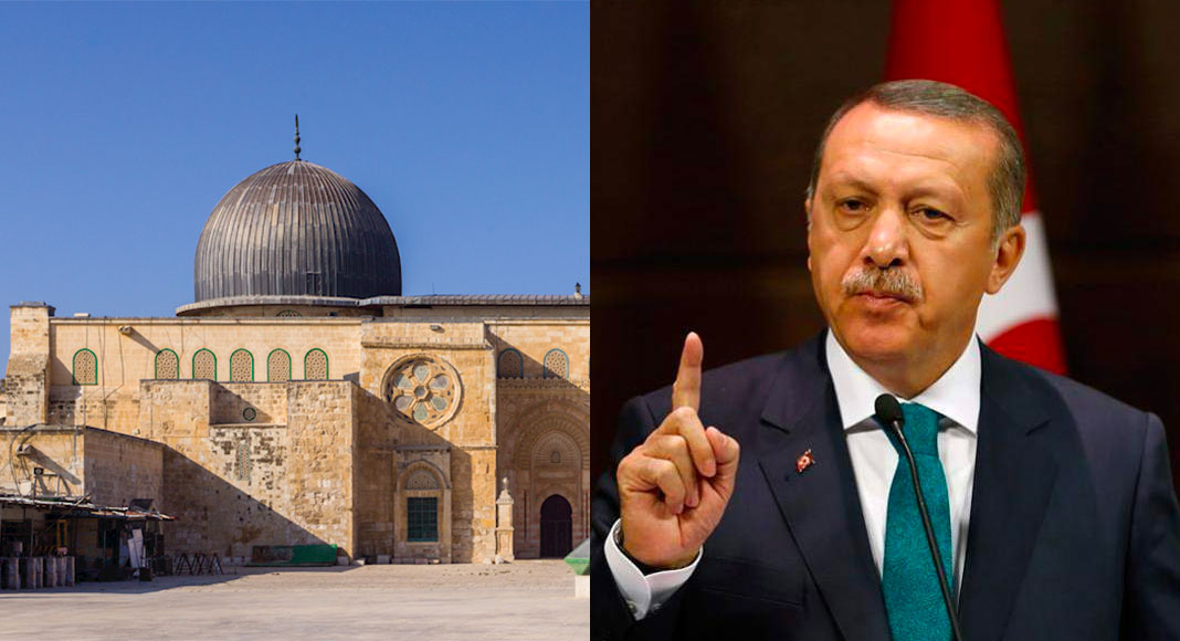 Turkey vows to 'liberate Al-Aqsa' after turning Hagia Sophia to mosque